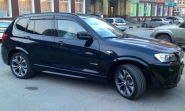 BMW X3 (F25) WSP Italy AURA (Anthracite Polished)