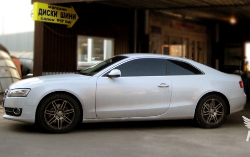 Audi A5 WSP Italy S8 COSMA TWO (Anthracite Polished)