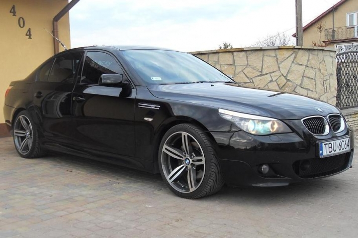 BMW 5-series (E60) WSP Italy Agropoli (Anthracite Polished)