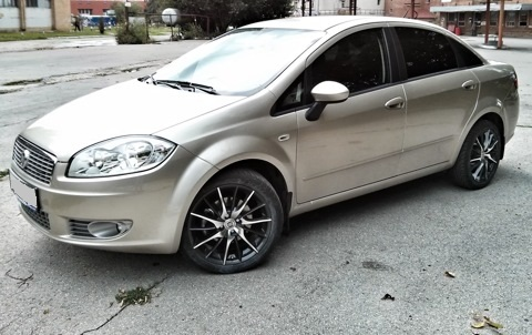 Fiat Linea WSP Italy FiRe MiTo (Anthracite Polished)