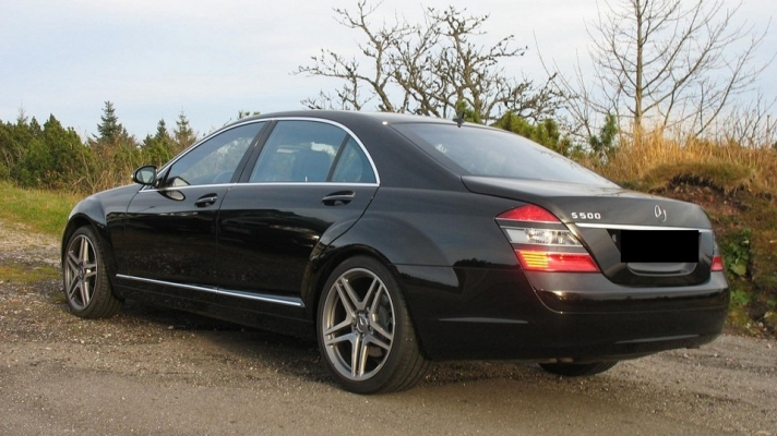 Mercedes S-Klasse (W221) WSP Italy AMG Vesuvio (Anthracite Polished)