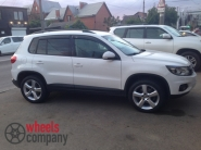 Volkswagen Tiguan WSP Italy DHAKA (Silver Polished)