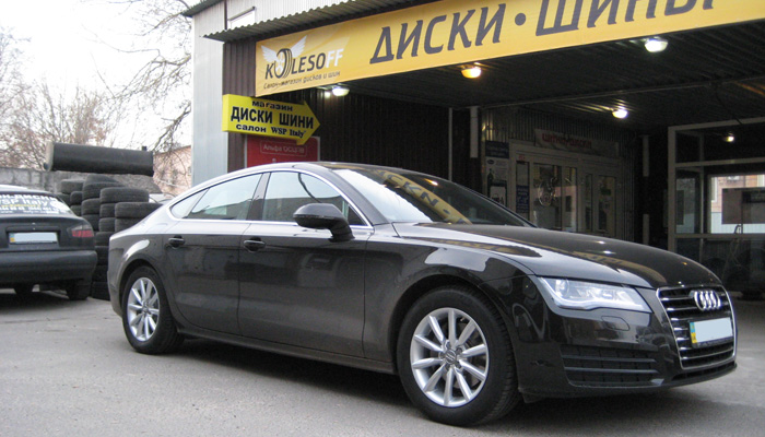 Audi A7 WSP Italy Allroad CANYON (Silver)