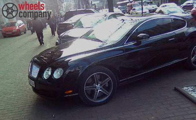 Bentley Continental WSP Italy AMG CAPRI  NEW SIZE 2008 (Anthracite Polished)