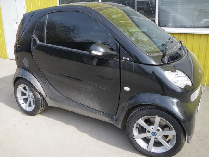 Smart Fourtwo WSP Italy LEEDS (Front) (Silver)
