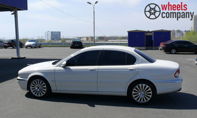 Jaguar X-Type WSP Italy ISIDORO (Silver Polished)