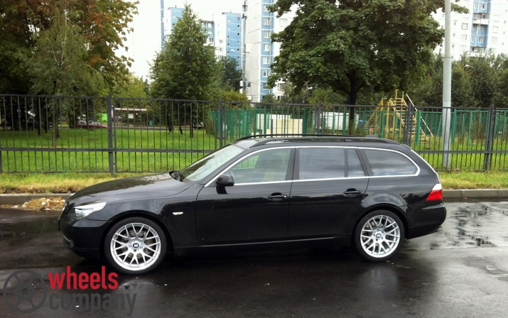 BMW 5-series (E60) WSP Italy BASEL M (Silver)