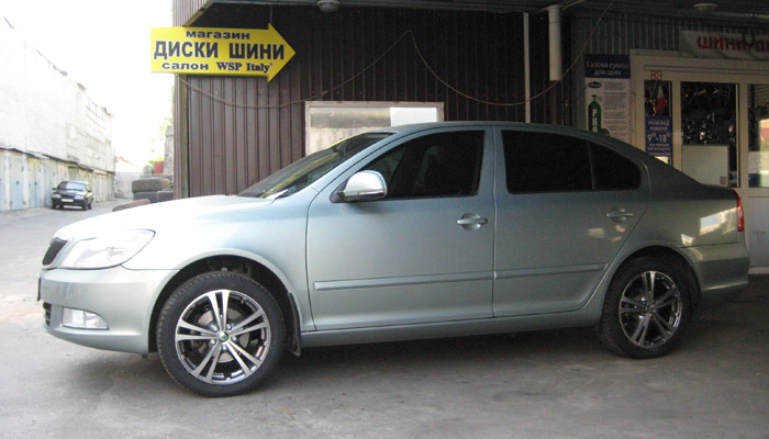Skoda Superb WSP Italy DANUBIO (Silver Polished)