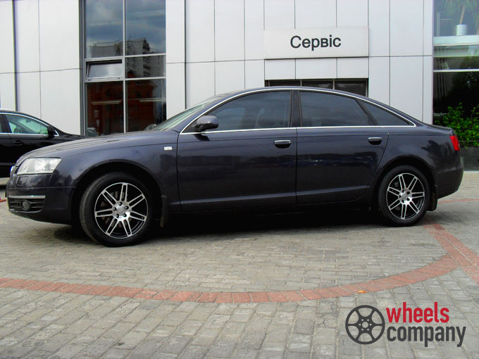 Audi A6 WSP Italy S8 COSMA TWO (Anthracite Polished3)