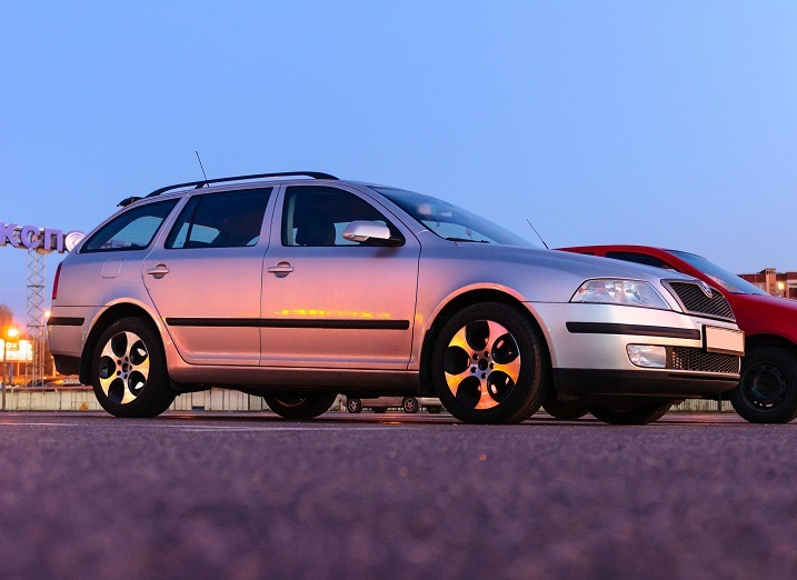 Skoda Octavia WSP Italy CIPRUS (Anthracite Polished)