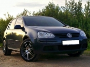 Volkswagen Golf V WSP Italy S8 COSMA TWO (Black Polished)