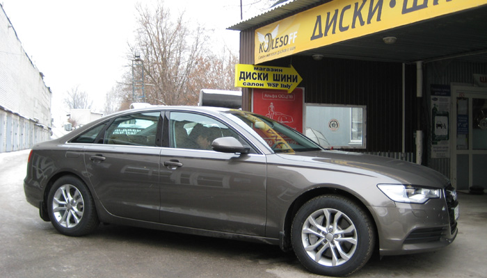 Audi A6 WSP Italy SEATTLE (Silver)