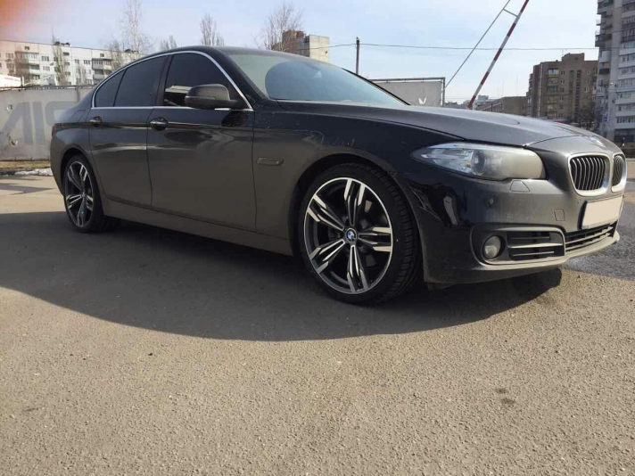 BMW 5-series (F10) WSP Italy ITHACA (Anthracite Polished)