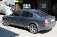 Skoda Superb WSP Italy SORRENTO (Anthracite Polished)