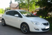 Opel Astra J WSP Italy MOON (Antracite Polished)