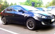 Hyundai Solaris WSP Italy MINI WORKS (Diamond black polish)