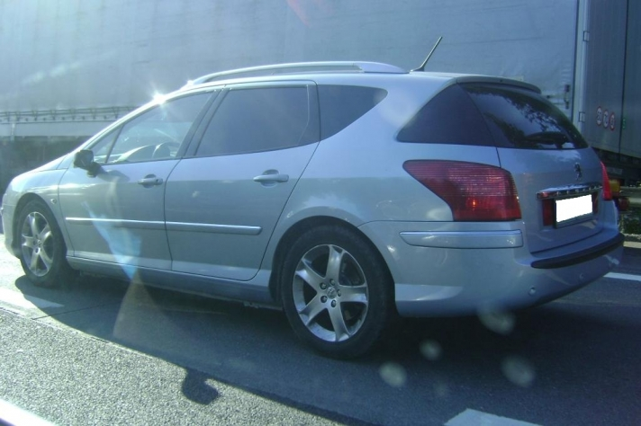 Peugeot 407 WSP Italy PALERMO (Silver)