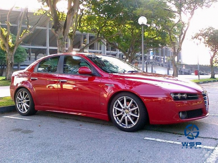 Alfa Romeo 159 WSP Italy CANNES (Silver)