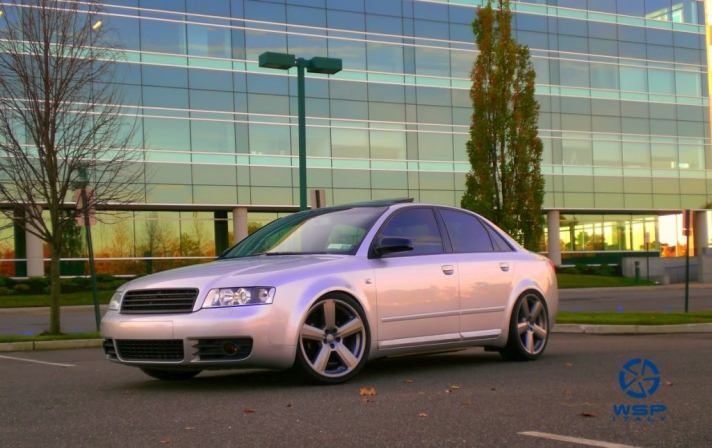 Audi A4 WSP Italy RS6 VANCOUVER (Silver)