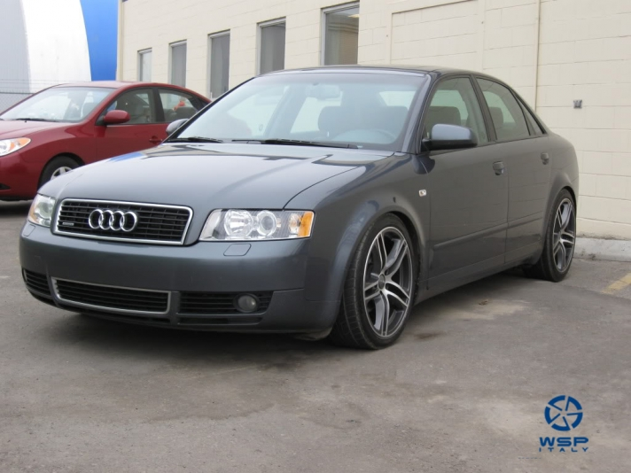 Audi A4 WSP Italy PAUL (Dull black polished)
