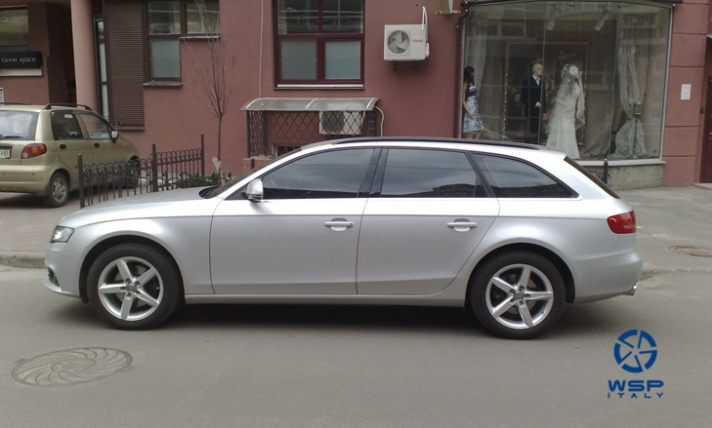 Audi A4 WSP Italy A4 KASSEL (Silver)