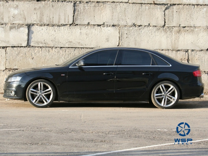 Audi A6 WSP Italy AMALFI (Silver)