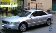 Audi A8 WSP Italy A8 RAMSES (Silver)