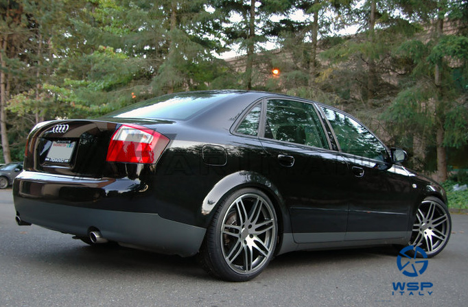 Audi A8 WSP Italy S8 COSMA TWO (Anthracite)