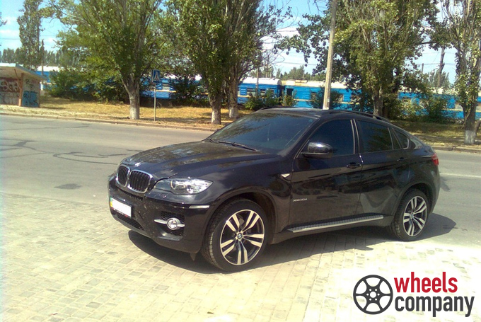 BMW X6 (E71) WSP Italy PANDORA X6 (Anthracite Polished)