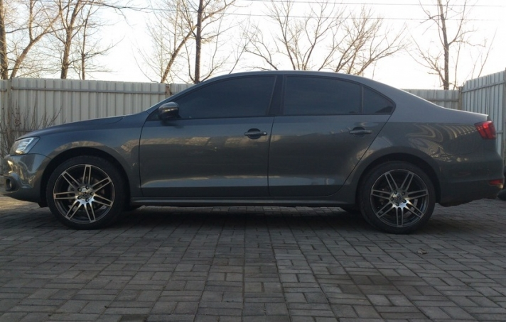 Volkswagen Jetta WSP Italy S8 COSMA (Undercut tech) (Anthracite Polished )