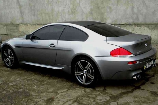 BMW M6 WSP Italy Agropoli (Anthracite Polished)
