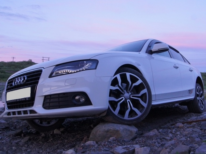 Audi A4 WSP Italy MEDEA (Matt GM polished)