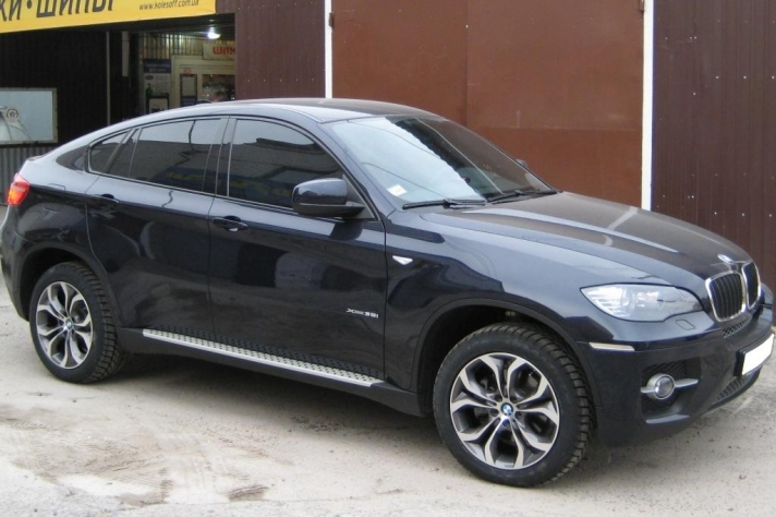 BMW X6 (E71) WSP Italy AURA (Anthracite Polished)