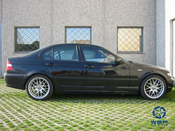 BMW 5-series (E39) WSP Italy CSL MUNCHEN (Silver)