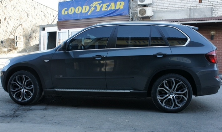 BMW X5 (E70) WSP Italy EVEREST (Anthracite Polished)