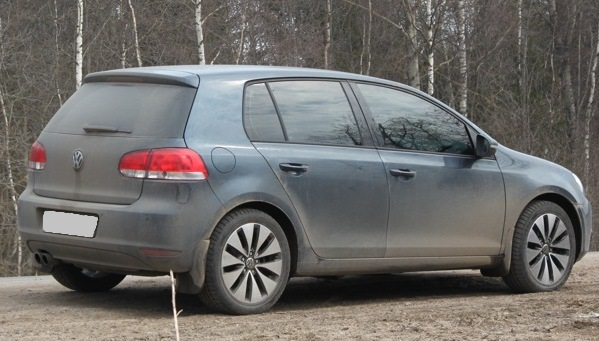 Volkswagen Golf V WSP Italy ERMES (Anthracite Polished)