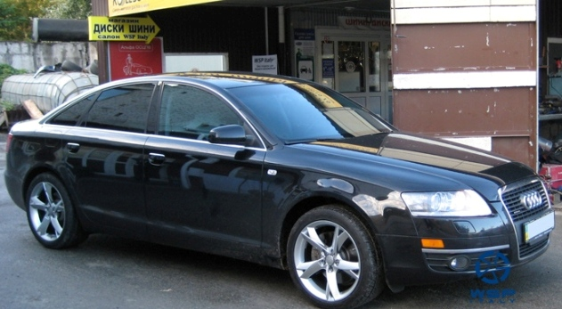 Audi A6 WSP Italy S5 Potenza (Hyper silver)