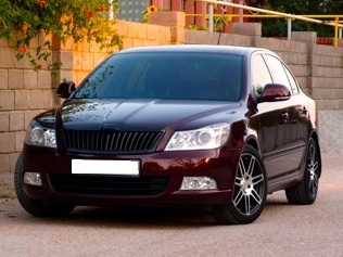 Skoda Octavia WSP Italy S8 COSMA TWO (Anthracite Polished)
