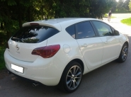 Opel Astra J WSP Italy MOON (Anthracite Polished)
