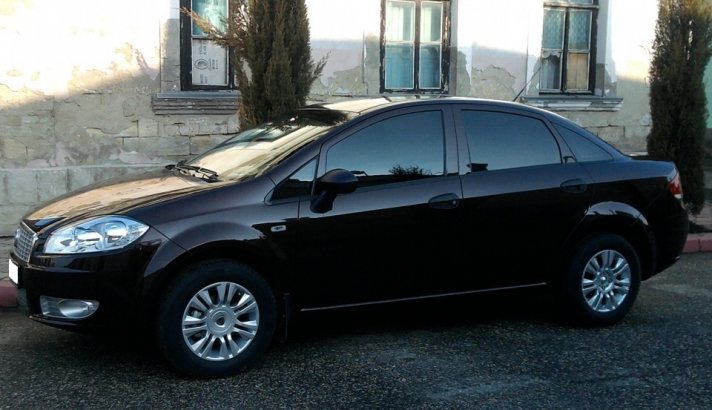 Fiat Linea WSP Italy MONTEVIDEO (Silver)
