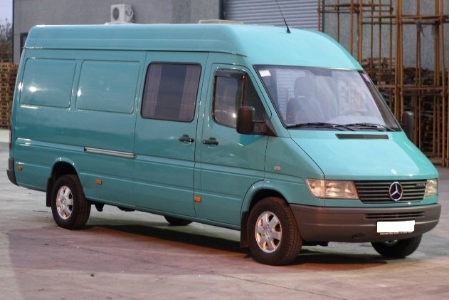 Mercedes Sprinter WSP Italy SPRINT FIVE (Silver)