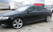 Audi A4 WSP Italy S5 Potenza (Hyper silver)