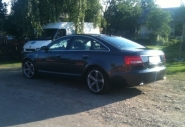 Audi A6 WSP Italy GIASONE (Matt GM polished)