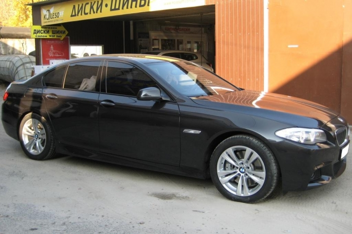 BMW 5-series (F10) WSP Italy NEPTUNE GT (Silver)