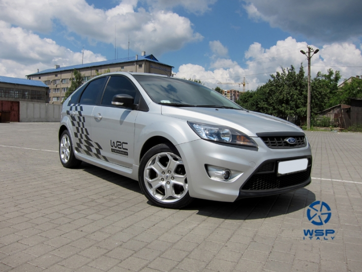 Ford Focus WSP Italy KENIA (Silver)