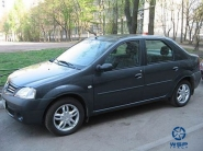 Renault Logan WSP Italy BORDEAUX (Silver)