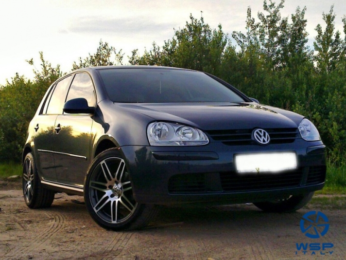 Volkswagen Golf IV WSP Italy S8 COSMA (Undercut tech) (Polished)