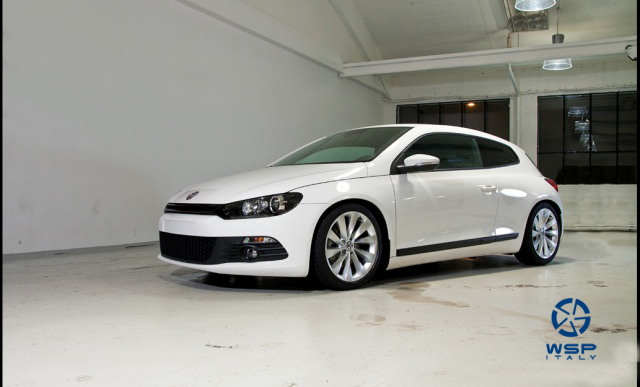 Volkswagen Scirocco WSP Italy GINOSTRA (Silver)