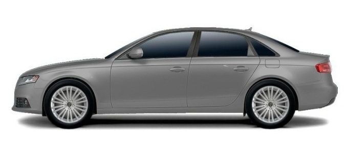 Audi A4 с дисками WSP Italy W450 DRESDEN